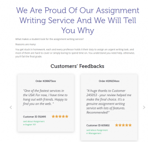 top assignment writing services